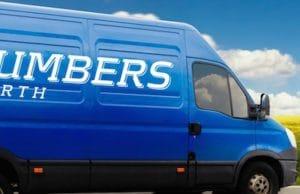 CBD Plumbers Van