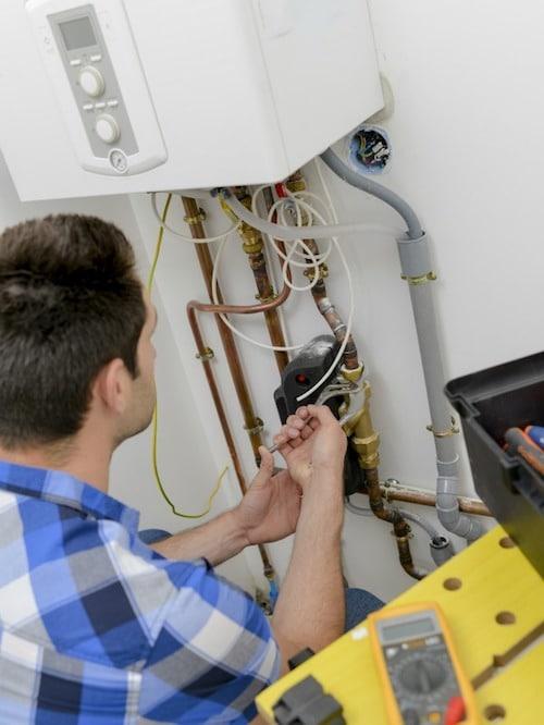 Boiler unit repairs