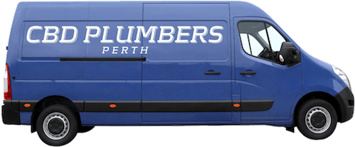 Plumbing van in perth